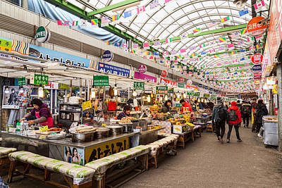 Photograph - Gwangjang Market by James BO Insogna