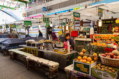 Photograph - Gwangjang Market Views by James BO Insogna