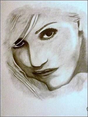 Drawing - Gwen Stefani by Pauline Murphy
