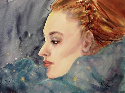 Painting - Gwenavere by Judith Levins