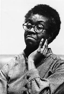 1980s Portraits Photograph - Gwendolyn Brooks 1917-2000, American by Everett