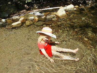 Photograph - Gwenyn At Galena Creek On Mt Rose by Dan Whittemore