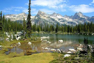 Photograph - Gwillim Lakes Valley by Frank Townsley