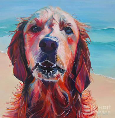 Painting - Gwynn by Adele Castillo