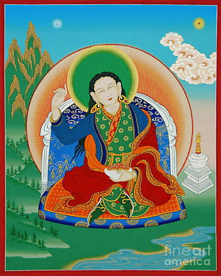 Painting - Gyalmo Yudra Nyingpo by Sergey Noskov