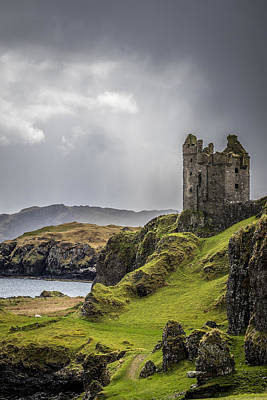 Photograph - Gylen Castle On Kerrera In Scotland by Neil Alexander