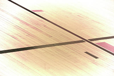 Photograph - Gym Floor by Troy Stapek