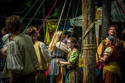 Photograph - Gypsies Around The Maypole by Kristy Creighton