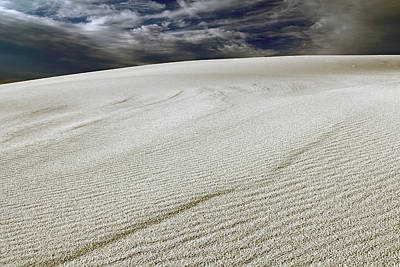 Photograph - Gypsum Sand Dunes Number 1 by Nicholas Blackwell