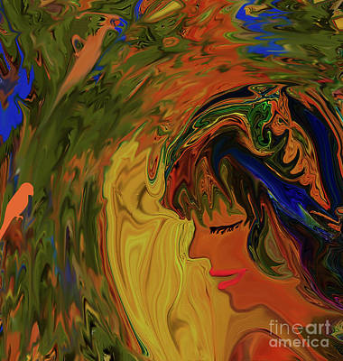Digital Art - Boho Gypsy Girl by Sherri Of Palm Springs