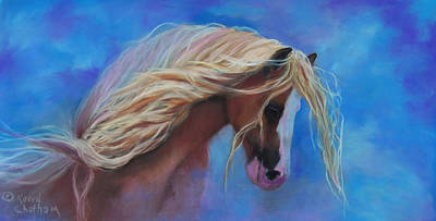 Pastel - Gypsy In The Wind by Karen Kennedy Chatham