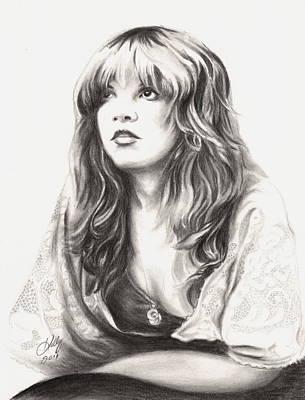 Stevie Nicks Drawing - Gypsy by Kathleen Kelly Thompson