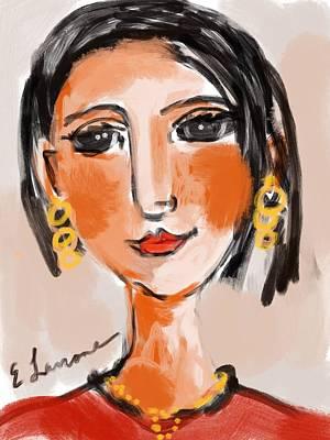 Gypsy Lady Art Print