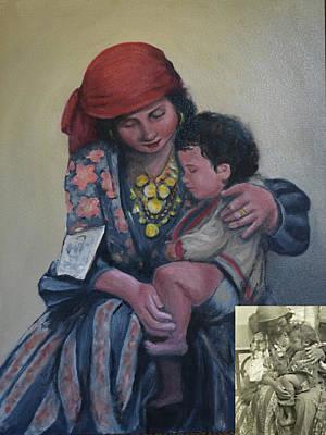 Painting - Gypsy Madonna by Sandra Nardone