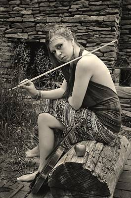 Photograph - Gypsy Player by Ron Cline