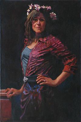 Gypsy Art Print by Robert Bissett