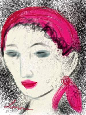 Drawing - Gypsy Rose by Elaine Lanoue