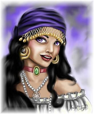 Gypsy Print by Scarlett Royal