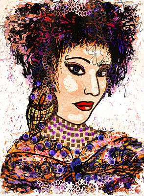 Gypsy Mixed Media - Gypsy Soul by Natalie Holland