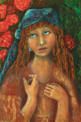 Painting - Gypsy by Terry Honstead