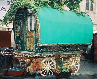 Gypsy Wagon Photograph - Gypsy Wagon by Tim Plawinski