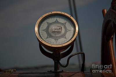 Photograph - Gyro Compass Repeater by Dale Powell