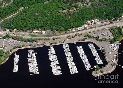Photograph - H-018 Hudson Marina On The St Croix by Bill Lang