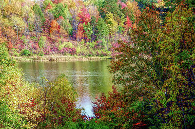 Photograph - H D R Devils Bathtub by Aimee L Maher ALM GALLERY