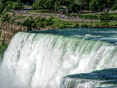 Photograph - H D R Niagara Falls 10 by Aimee L Maher ALM GALLERY