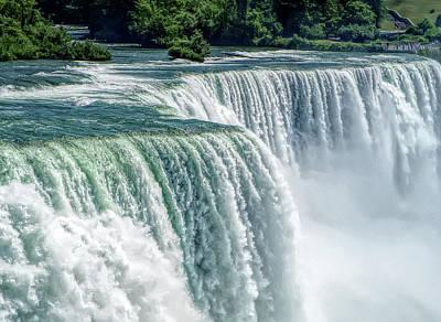 Photograph - H D R Niagara Falls 2 by Aimee L Maher Photography and Art Visit ALMGallerydotcom