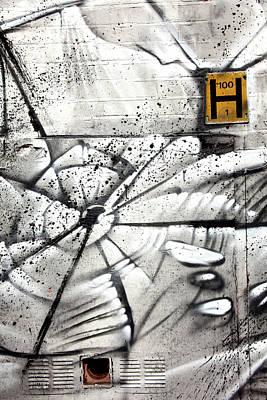 H Street Art Print by Jez C Self