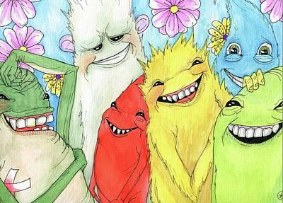 Painting - Ha Ha by Julie McDoniel
