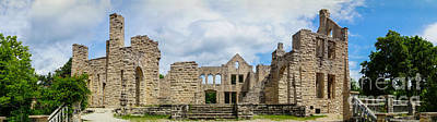Photograph - Ha Ha Tonka Castle Panorama by Jennifer White