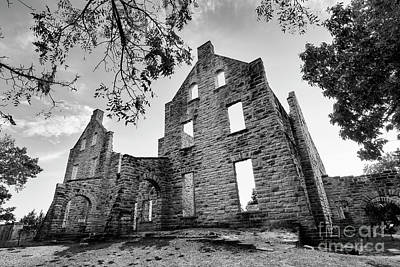 Photograph - Ha Ha Tonka Castle Ruins 2 by Dennis Hedberg