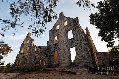 Photograph - Ha Ha Tonka Castle Ruins by Dennis Hedberg