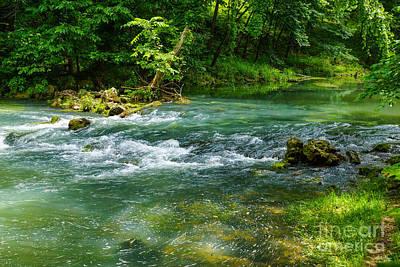 Photograph - Ha Ha Tonka Rapids by Jennifer White