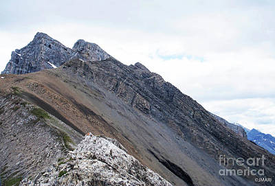 Photograph - Ha Ling Peak by Jacquelinemari
