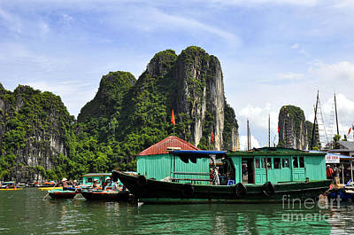 Photograph - Ha Long Bay 11 by Andrew Dinh