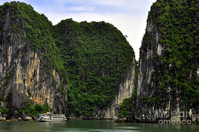 Photograph - Ha Long Bay 2 by Andrew Dinh