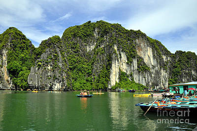 Photograph - Ha Long Bay 21 by Andrew Dinh
