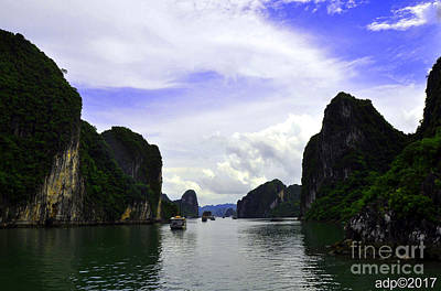 Photograph - Ha Long Bay 3 by Andrew Dinh