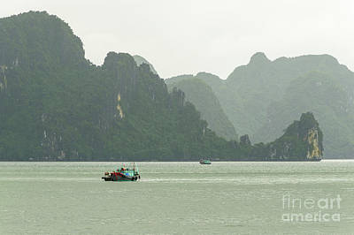 Photograph - Ha Long Bay 3 by Werner Padarin