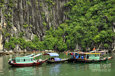 Photograph - Ha Long Bay 4 by Andrew Dinh