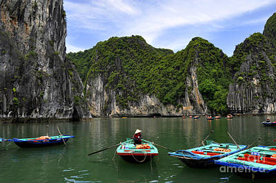 Photograph - Ha Long Bay 5 by Andrew Dinh