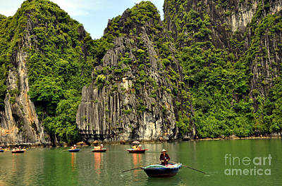 Photograph - Ha Long Bay 6 by Andrew Dinh
