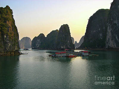 Photograph - Ha Long Bay by Eena Bo