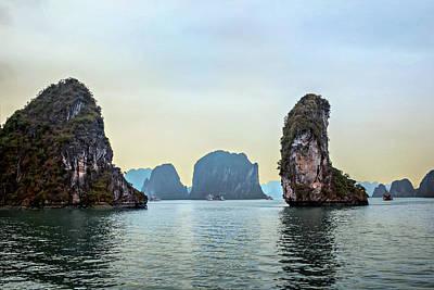 Photograph - Ha Long Bay by Maria Coulson