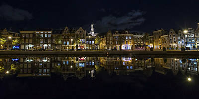 Steeple Photograph - Haarlem Night by Chad Dutson