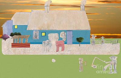 Digital Art - Habitants Version 3 by Donna L Munro