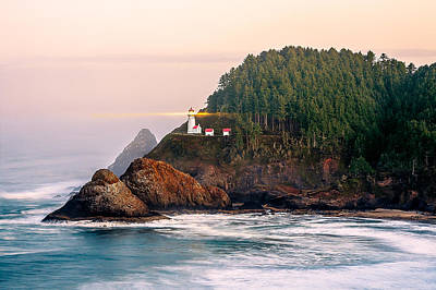 Oregon State Photograph - Haceta Head Light by Todd Klassy